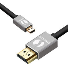 Micro HDMI to HDMI Cable compatible with HDMI 2.0a/b, 2.0, 1.4a Ultra HD 4K 3D Full HD 1080p, HDR, ARC, Highspeed with Ethernet(China)