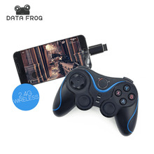 2.4G Wireless Game Controller Joystick For Android TV Box Tablet For PC Games Gamepad Universal For Cell Phone Remote With OTG
