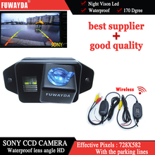 FUWAYDA Wireless SONYCCD Car Rear View Reverse Back Parking Mirror CAMERA forTOYOTA LAND CRUISER PRADO 2700 4000 with Guide Line(China)