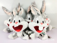 Cartoon Looney Tunes Bugs Bunny Plush Rabbit Toys 25CM,Baby Rabbit Stuffed Animals Kids Gifts Soft Toys for girls Boys