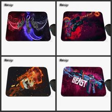 Professional Printing Custom CSGO Weapons and Equipment Selection Game Notebook Non-slip Rubber Rectangular Mouse Pad