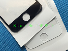 50pcs/lot 100% Original Front Outer Replacement Touch Screen Digitizer Glass Lens For iPhone 5 5C 5S White and Black AAA+