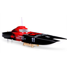 Trailblazer 1300BP FS-GT2 2.4G Transmitter High Speed Racing Boat Electric Speedboat Catamaran RC Boat Model Toys Hobbies barco(China)