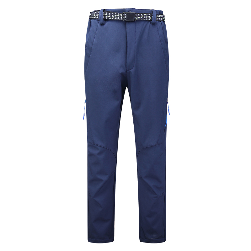 Hiking Camping Pants New Brand Waterproof Windbreaker Trousers Male Inner Fleece soft shell pants Winter Men Outdoor <br><br>Aliexpress