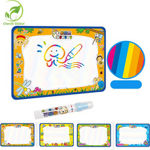 50x35cm Baby Kids Add Water with Magic Pen Doodle Painting Picture Water Drawing Play Mat in Drawing Toys Board Gift