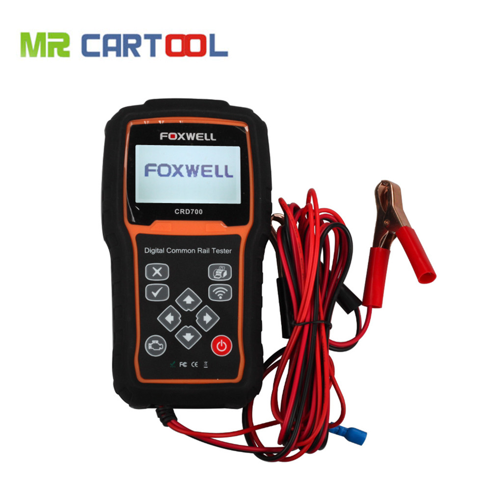 New Arrival Foxwell CRD700 Digital Common Rail High Pressure Tester Free Shipping(Hong Kong)