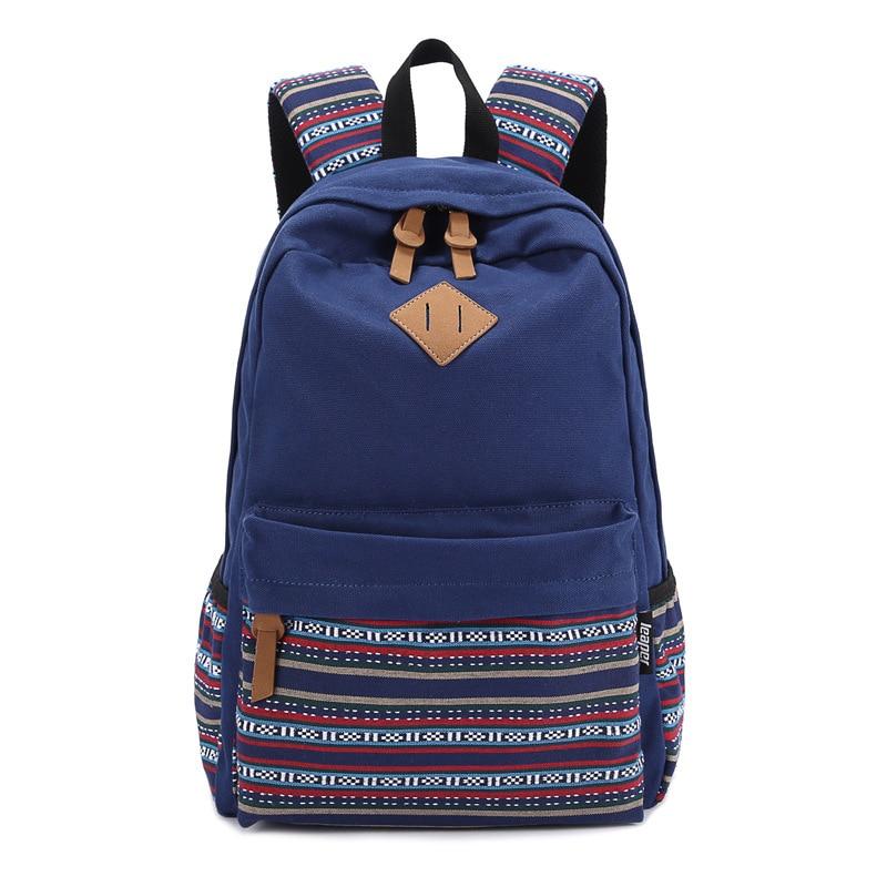Women Backpack for School Teenagers Girls Vintage Stylish School Bag Travel Backpack Female Purple Back Pack Mochila Escolar<br><br>Aliexpress