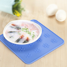 6.9-inch European style Silicone Pot Holder,trivet Mat,jar Opener, Non Slip,flexible,durable,dishwasher Safe,