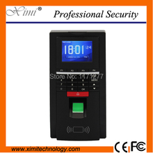 125KHz Standard fingerprint access control device time attendance 10000 card record TCP/IP free shipping use in hotel office
