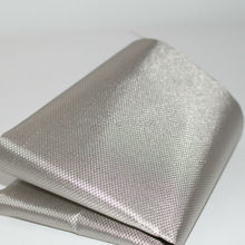 Diamond Nickel copper Emi Shielding Material Rfid Shielding Ripstop Conductive Fabric For Curtain(China)