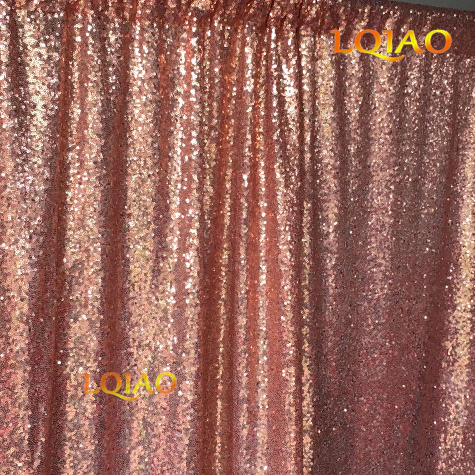 Rose Gold Sequin Backdrop-011