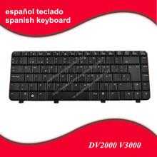 SP Teclado Spanish keyboard For HP Pavilion DV2000 DV2100 DV2200 DV2300 DV2400