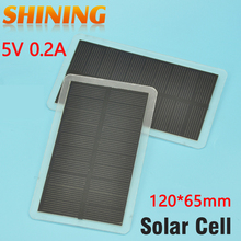 200Pcs/Lot 1W Solar Panel Cell Light Weight Small Size For Battery Charging Charger DIY Study Solar Cell Kit Solar Toy Panel