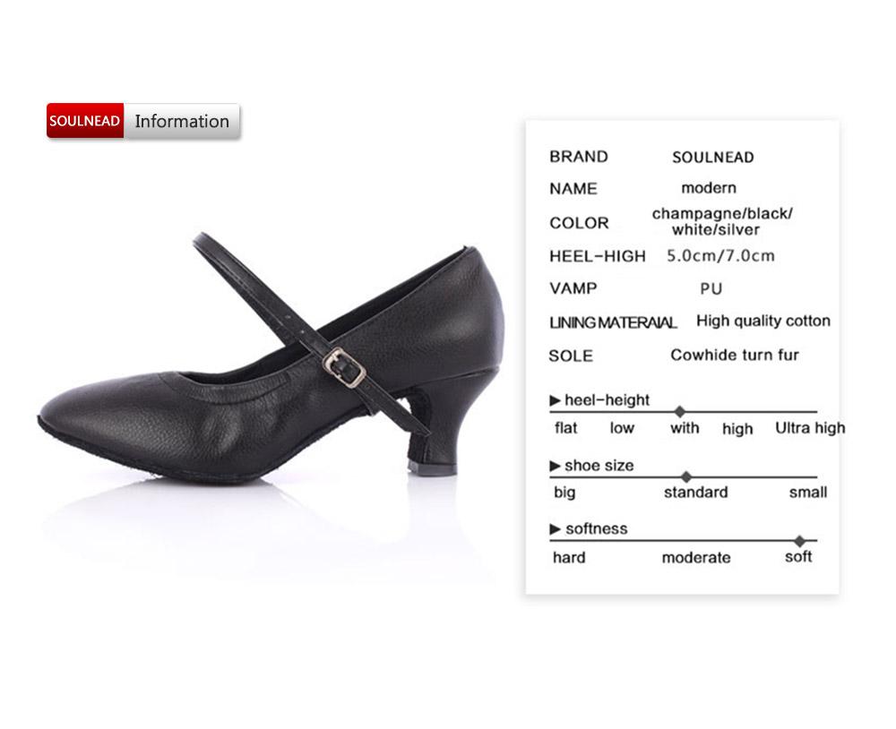 Hot Selling Latin Dancing Shoes For Women Soft Bottom Tango Shoes 57Cm Modern Salsa Dance Shoes Female Ballroom Dancing Shoes (7)