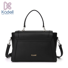 Kadell New England Style Luxury Handbags Women Bags Designer High Quality Satchels Brand Ladies Messenger Bags PU Leather(China)