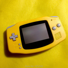 Top Sale Yellow Color Housing Case for Gameboy Advance GBA Console Replacement Shell With Original Logo For Kid