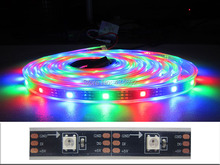 10 Meter 45W SMD5050 RGB Dream Color Led Strip Light WS2811 WS2812B Light IP67 Waterproof DC5V 9A 30LEDS/30IC