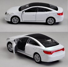 Welly 1:36 hyundai sonata simulation alloy toy car model counters authentic for baby gifts