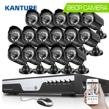 16Channel AHD HDMI 1080P dvr system 16pcs 960P 1.3MP 2200tvl outdoor security Surveillance camera kit 16ch 1080P NVR USB 3G WIFI