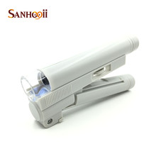 Pocket Microscope With LED Light Jewelry Jeweler Loupe Mini Handy 100X Magnifier(China)