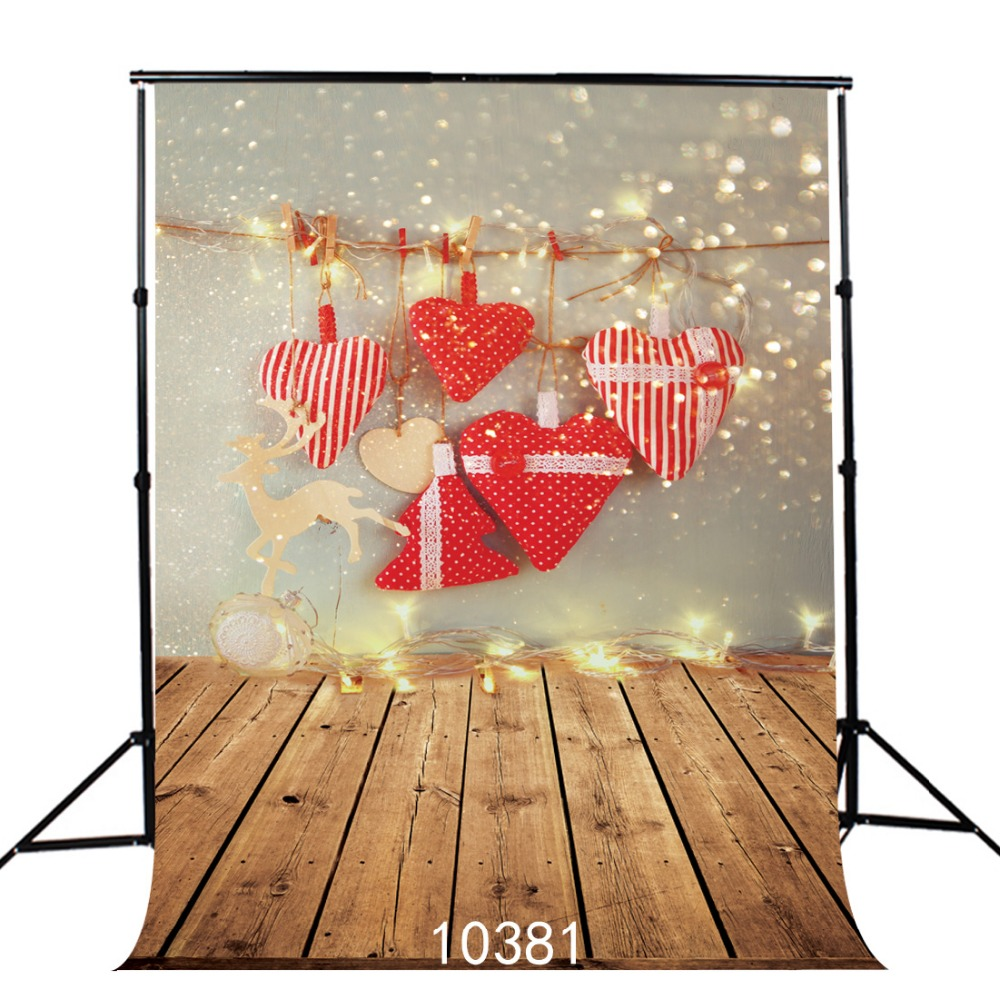 Children photography background Heart Pendant Valentines day wood photo background Fond studio photo vinyle   5x7ft SJOLOON<br><br>Aliexpress