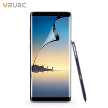 Vrurc 3D Full Cover Phone Film For Samsung Galaxy Note 8 Screen Protector PET Clear HD Transparent Screen Guard film(Not Glass)(China)
