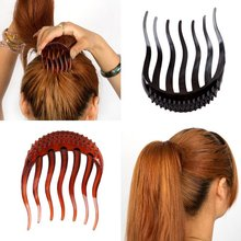 Useful Volume Inserts Hair Clip Bumpits Bouffant Ponytail Hair Comb Bun Maker Accessories for Women