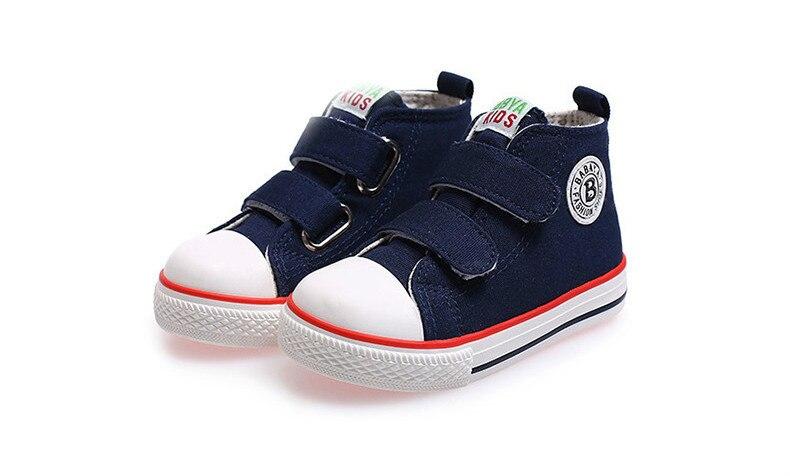Enfants chaussures pour fille enfants toile chaussures garçons 48