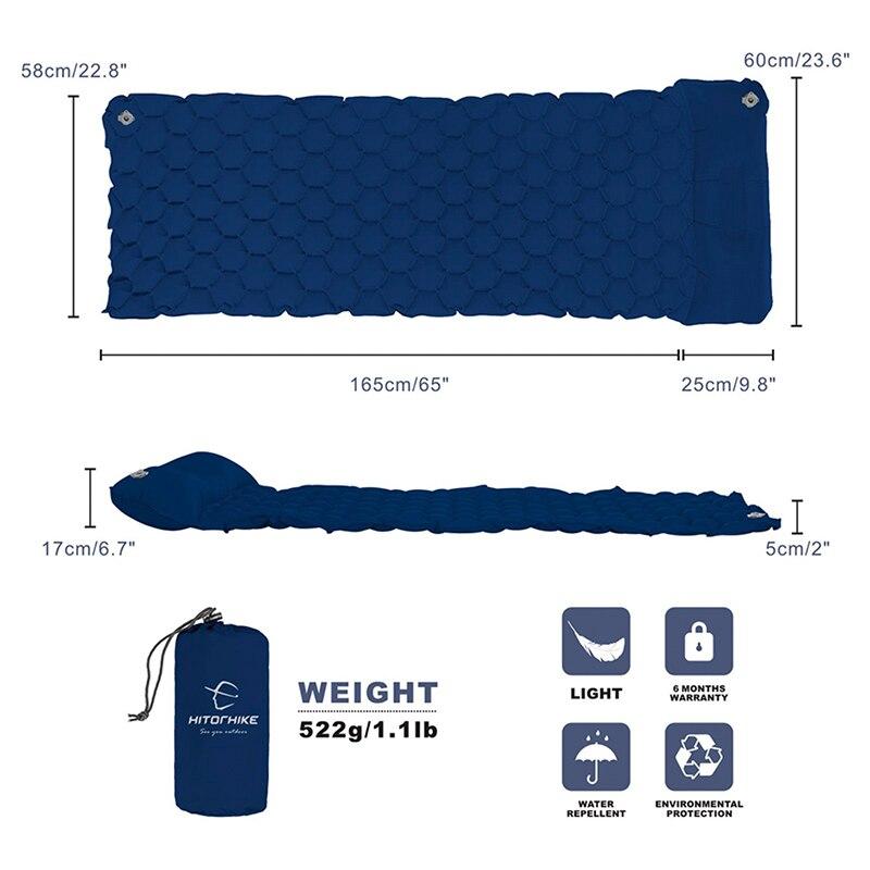 Inflatable sleeping pad 3