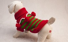 Pet dogs sweater kittens sweater teddy clothes Christmas sweaters warm clothes