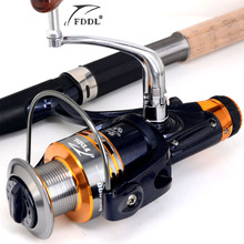 High Quality 5.1:1 Collapsible Arm Metal Spool Spinning Fishing Reel Trolling Coils Line Roller Carretilha Pesca for Sea Fishing