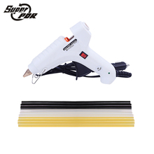 PDR tools kit 1 white 12v car charger glue gun and 9 pcs hot melt glue sticks used for Car dent repair dent removal