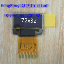 0.48 inch White OLED Screen 72*32 12PIN SSD1306(China)