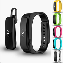 1pc New Smart watches band Bracelet Waterproof Smart Wrist band Pedometer Bluetooth With Earphone alarm For IOS Android gift H4(China)