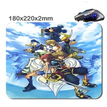 Kingdom  Hearts 180X220X2cm  Rubber Gaming Mouse Mat Can Be Used Tablet Usb Micro Sd Laptop Mini Pc Keyboard