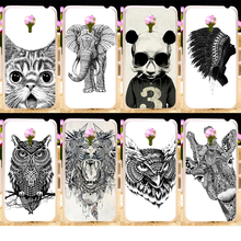 Phone Cases For Meizu MX4 IV MX 4 PRO mx4pro IV MX IV MXIV Black Animals Hard Cell Phone Cover Housings Bags Sheaths Skins Hood