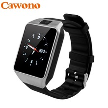 Cawono Bluetooth Smart Watch Smartwatch DZ09 Android Phone Call Relogio 2G GSM SIM TF Card Camera for iPhone Android VS A1 GT08(China)