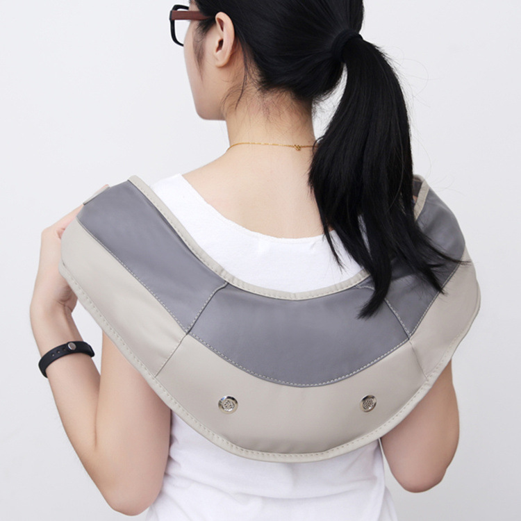 2017 New Massage Beat Multifunction Electric Shoulder Neck Massage Home Beat Cervical Shawl Healthy Care Massager Festival Gift<br>
