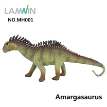 Lamwin Unique Action Figure Realistic Amargasaurus Model Jurassic World Park Dinosaur Toys For Birthday Gift
