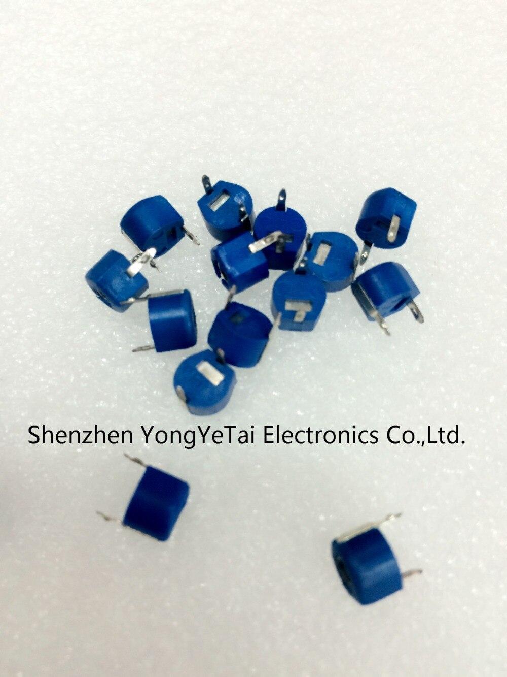 30pF 2 Pines Plástico Metal Condensador Condensador de ajuste variable ajustable 10 un