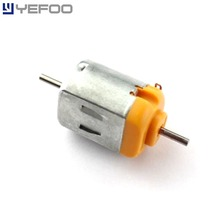 2PCS/5PCS/10PCS 130 Double Output Shaft DC Toy Motor 1.5-6V 3V 11000rpm DIY Model Science experiment Strong magnetic(China)