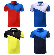 Soccer Jersey Shirt customized Logo Chandal Polos mens Sport soccer POLO camisas de futbol polo shirts(China)