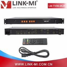 LINK-MI LM-TV09-4K2k Full HD Video Processor 3x3 Video Wall Controller for LCD LED monitor video wall