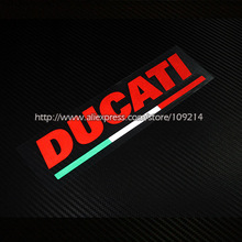 For Ducati Multistrada1200 Monster 696 796 821 1100 Diavel Streetfigher Helmet Motorcycle Decal Reflective Sticker Waterproof 09(China)