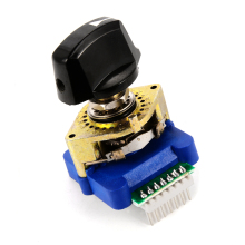 DCRS-01J Digital Code Rotary Switch Binary Encode with Plastic Knob for Industrial Control HT366