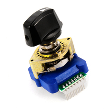 DCRS-01J Digital Code Rotary Switch Binary Encode with Plastic Knob for Industrial Control HT366(China)