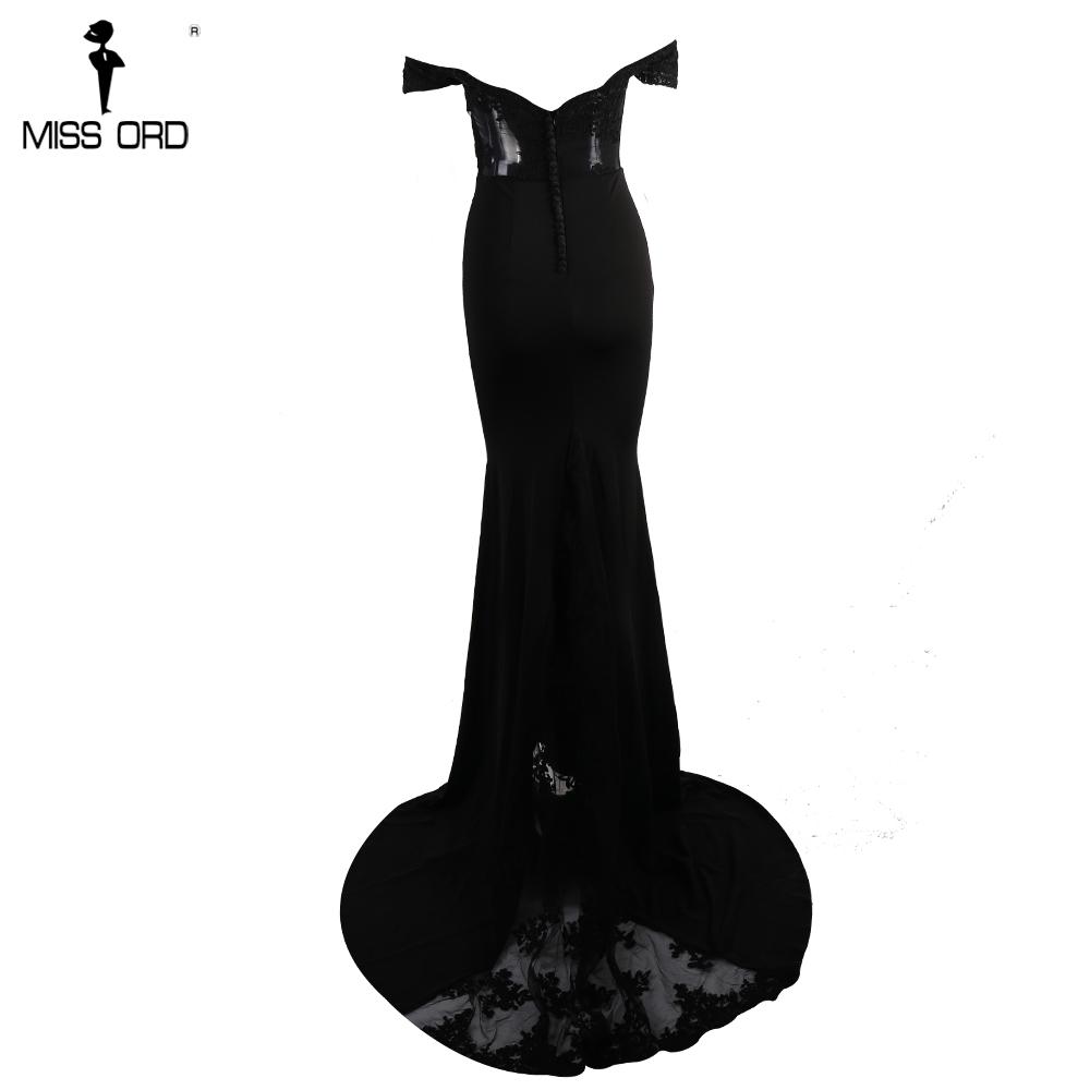 فستان سهرة  Missord جذاب مع ذيل وذو تصميم مميز 13
