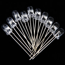 Lixada 10 Pcs 5mm 150mw Infrared Ray IR LED Night Vision 850nm Luminous Diode For Monitoring / Remote Control / Target Tracking