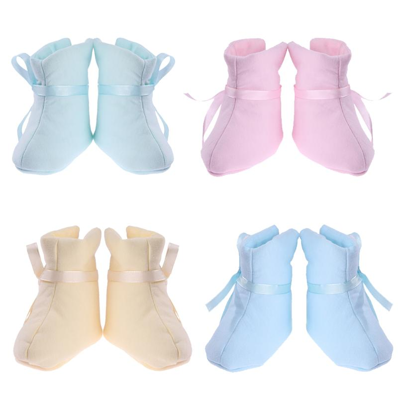 Unisex Baby Newborn Faux Fleece Bootie Winter Warm Baby Shoes Infant Toddler Classic Bowknot Floor Boys Girls Boots