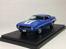 Rare 1:43 1969 classic muscle car model Alloy collection model(China)